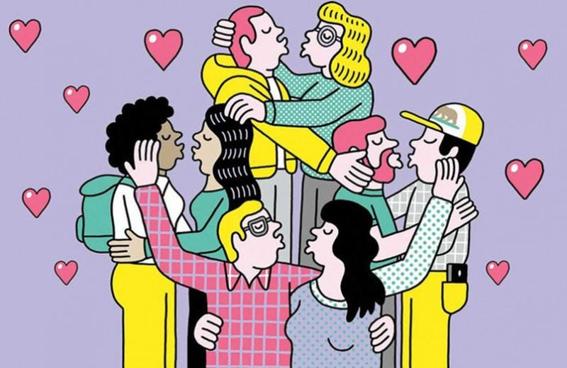 Полиамория и публичный оргазм: тайный секс-культ «пурпурных людей»