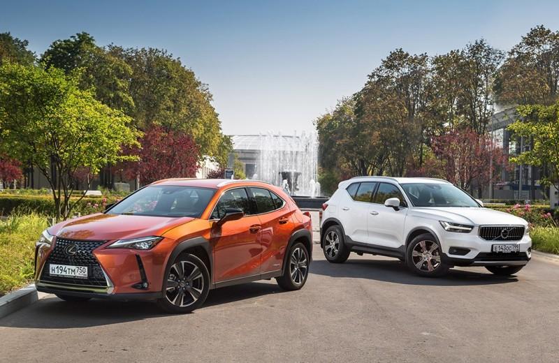 Имиджмейкеры. Lexus UX против Volvo XC40