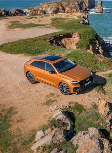Новый Audi Q8 стал самым мощным и дорогим кроссовером марки