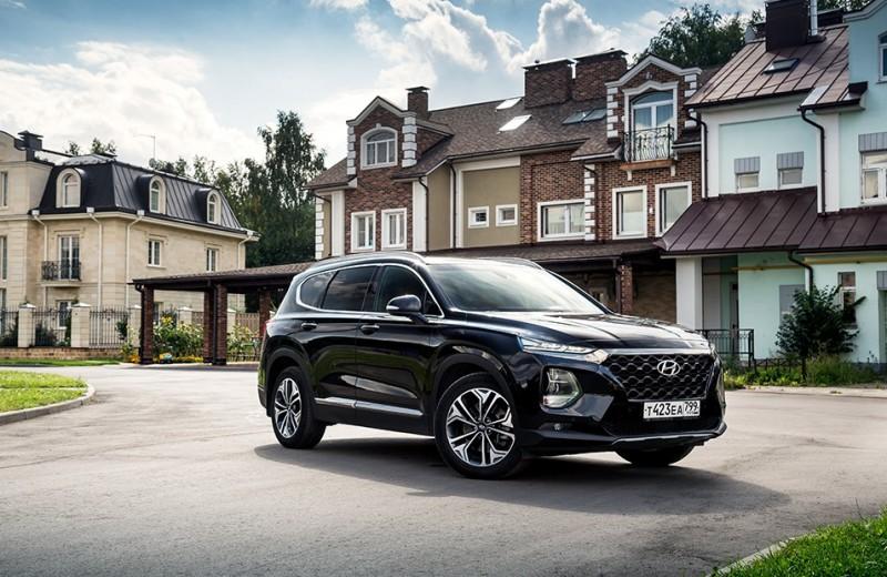 Кроткий великан: тест-драйв Hyundai Santa Fe