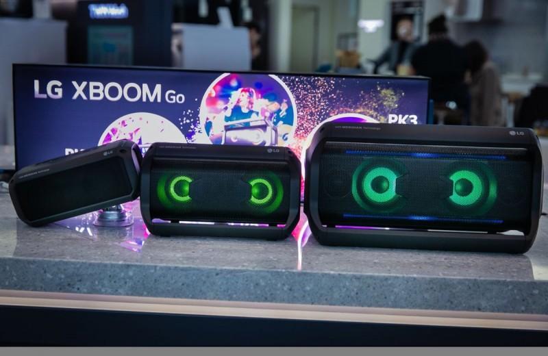 Портативные акустические системы LG XBOOM Go серии PK уже в России