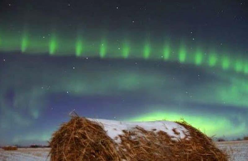 """""""Бусины"""" полярного сияния: как магнитосфера Земли собирает ожерелье"""