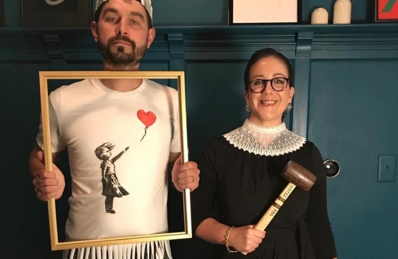 Реальность страшнее: что рассказали о нашей реальности костюмы на Хэллоуин 2018