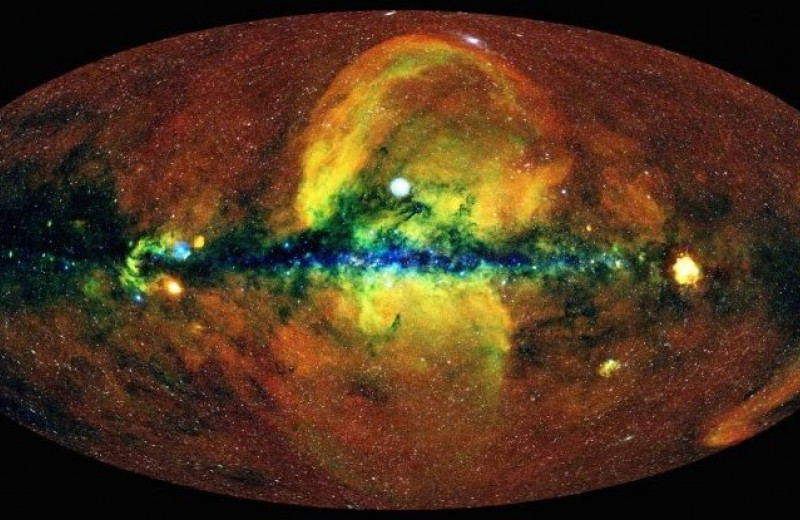 В нашей галактике найдены колоссальные пузыри рентгеновского излучения, ранее неизвестные науке