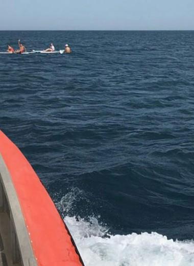 10 российских туристов унесло в море в Черногории
