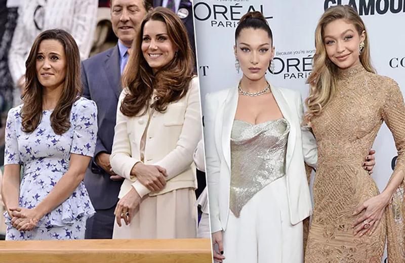Красивы и талантливы: Хадид, Миддлтон и другие знаменитые сёстры, покорившие мир