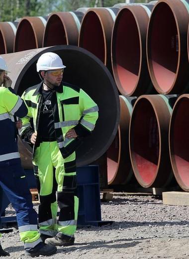 FT узнала об угрозе срыва сроков сдачи «Северного потока — 2» из-за Дании
