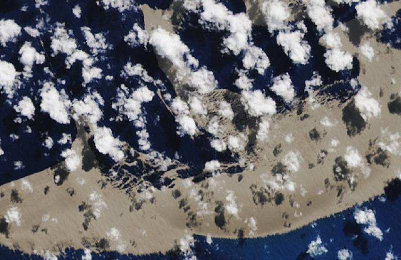 Вулканический остров переплыл океан и добрался до Австралии