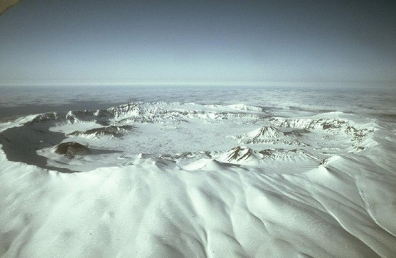Извержение вулкана на Аляске связали с падением Римской республики