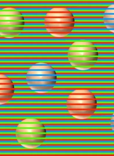 Какого цвета эти шары? Новая оптическая иллюзия