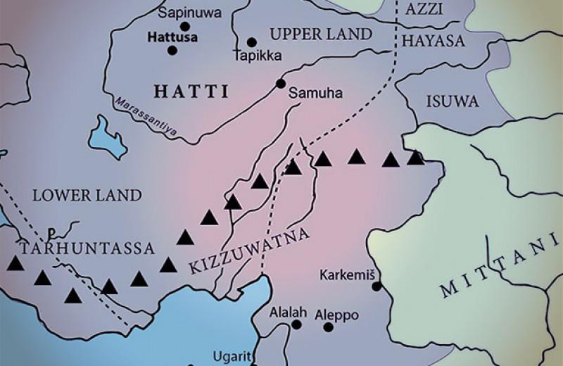 Изменения древних путей через Таврские горы связали с усилением Хеттской державы
