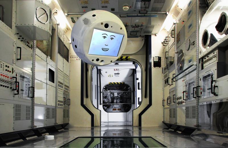На МКС появится летающий робот с искусственным интеллектом