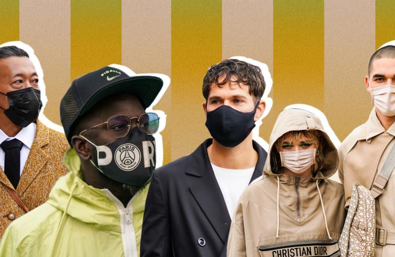 Как маски превратились в самый модный аксессуар
