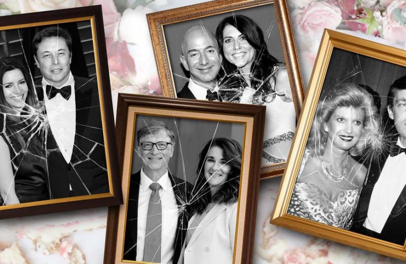 Дорого и несчастливо: открытые браки и сложные разводы миллиардеров из списка Forbes