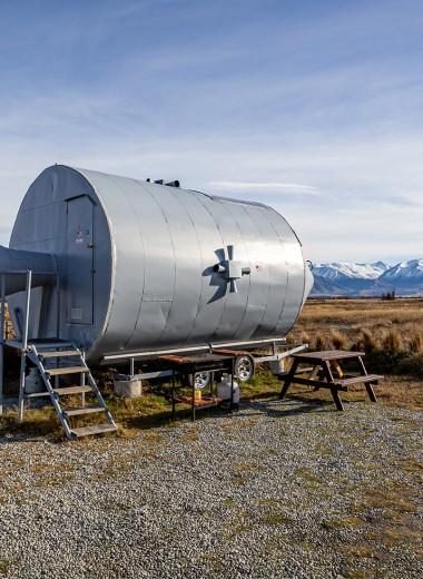 В галактике за $11: Airbnb предлагает ночевку в космическом корабле