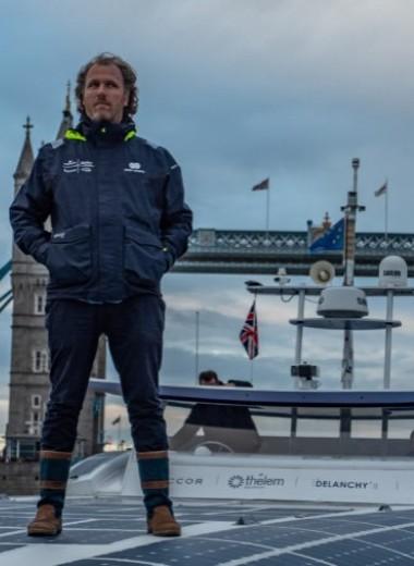 Первый в мире корабль на водородном топливе пришвартовался в Лондоне