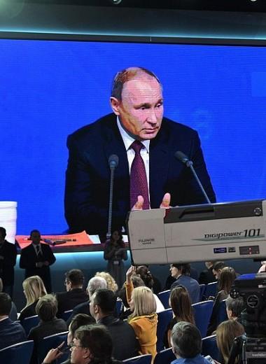 Путин прямого эфира vs Путин документального фильма