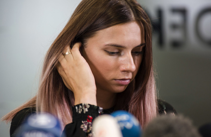 Белорусская бегунья Тимановская рассказала об угрозах и увольнении мужа из-за поддержки протестов