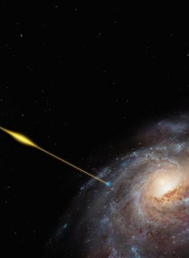 Быстрый радиовсплеск впервые обнаружили в нашей галактике