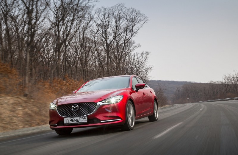 Полнота ощущений: тест новой Mazda6