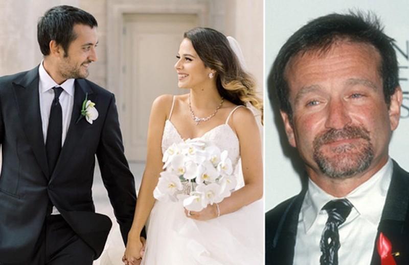 Сын Робина Уильямса женился в его день рождения: трогательные фото