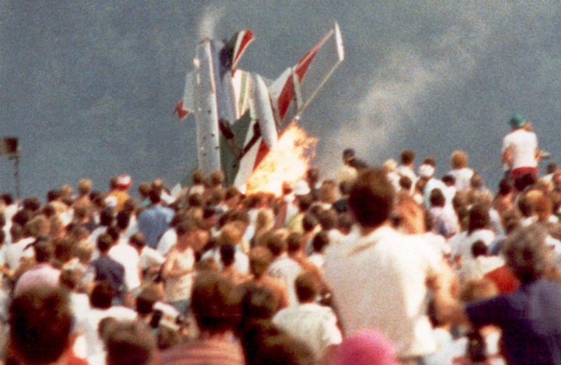 Авиашоу массового уничтожения: катастрофа на базе Рамштайн, 1988