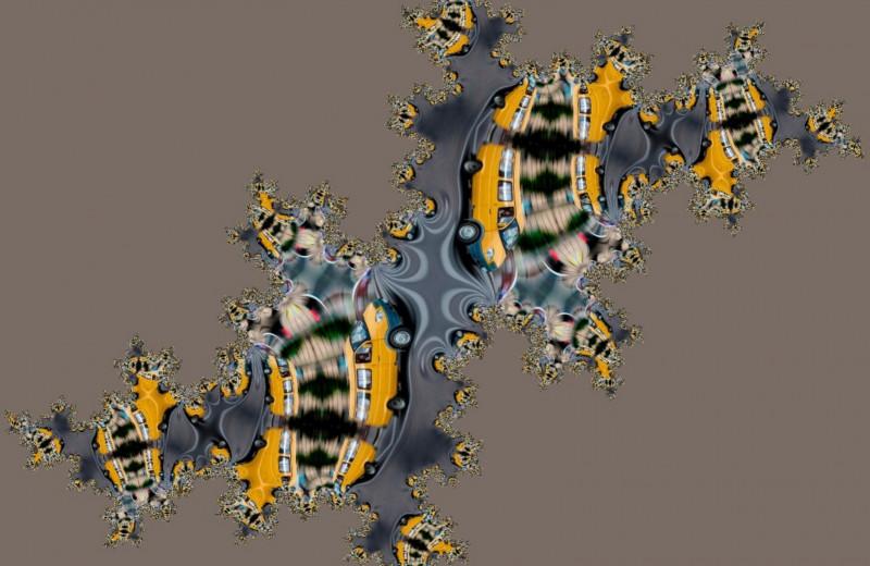 Динамика квантового транспорта в фрактальных решетках оказалась зависима от размерности фрактала