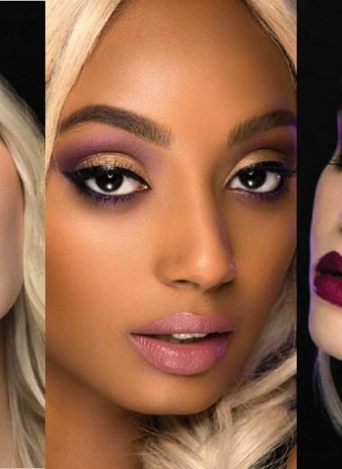 Как сделать 6 разных вариантов макияжа с помощью одной палетки теней