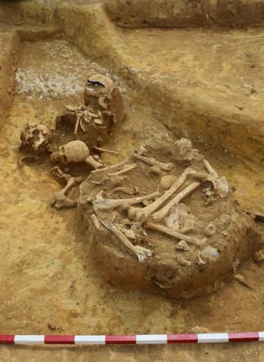 После смерти обезглавить: в Англии найден загадочный могильник