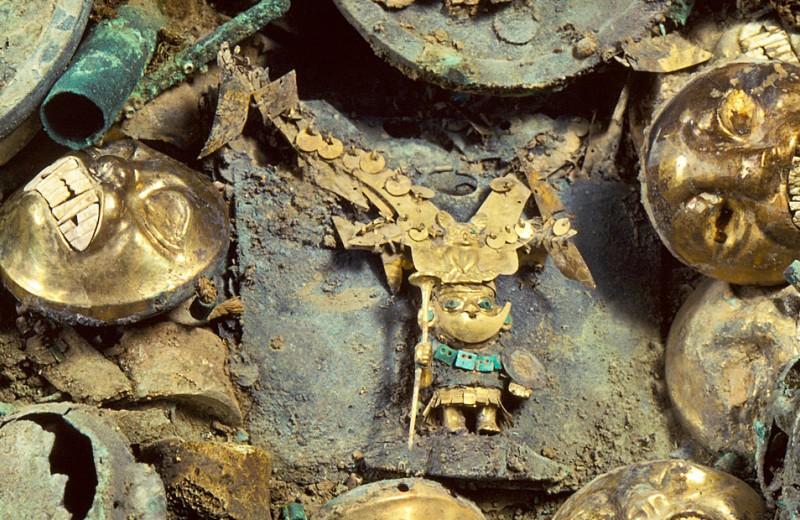 Происхождение золота и грязи