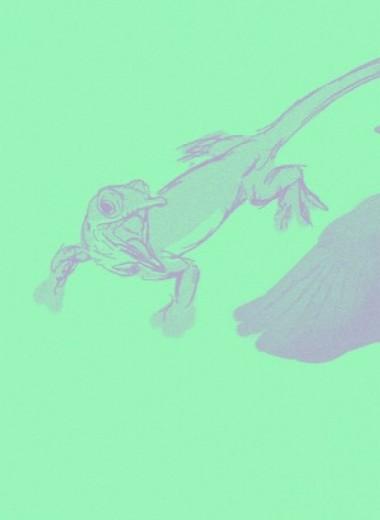Большие проблемы крохотного динозавра