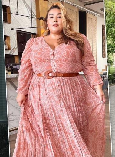 19 красивых и стильных платьев для полных женщин - выбор Cosmo