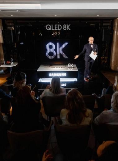 Телевизор будущего с искусственным интеллектом Samsung QLED 8К появился в России