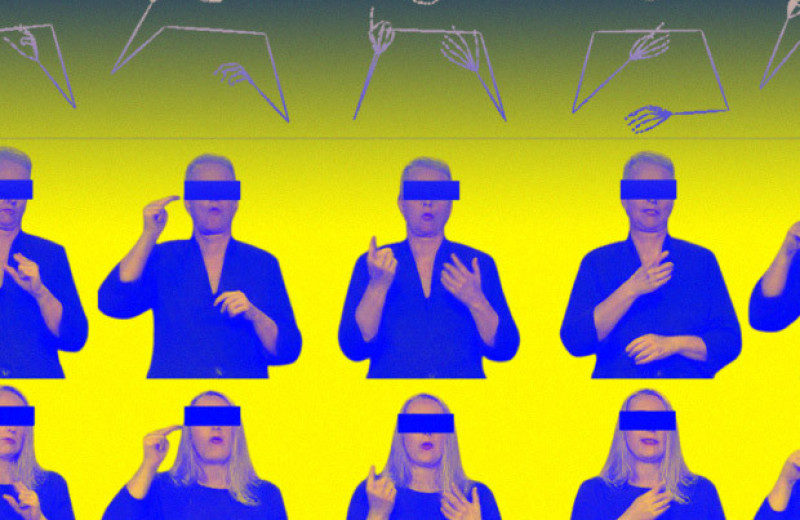 Нейросеть перевела текст в жестовую речь