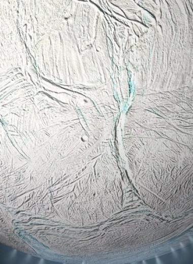 Планетологи заподозрили существование течений в подледном океане Энцелада
