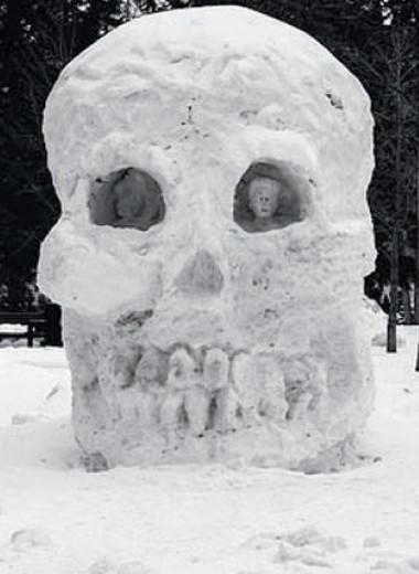 Как сделать действительно крутого снеговика: снежный дьявол и еще четыре идеи