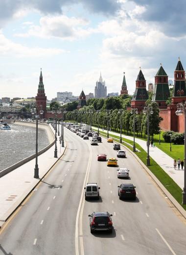 Дорогу пешеходам. Скорость в центре Москвы ограничат до 40 км/ч