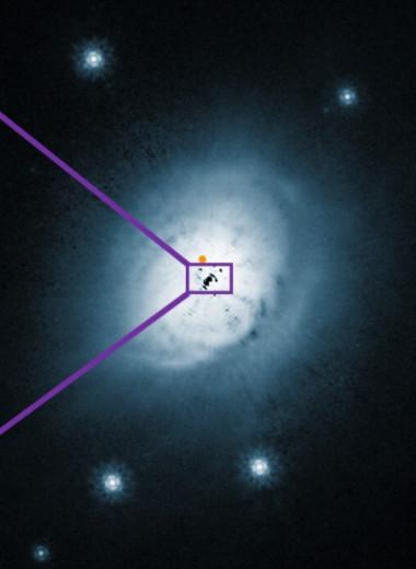 Астрономы впервые нашли в теплом протопланетном диске метанол