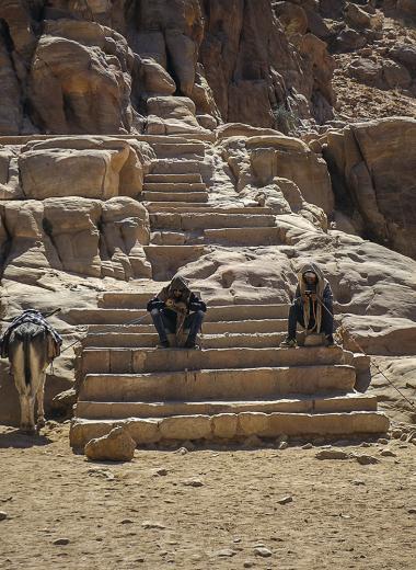 Живые и Мёртвое: фоторепортаж из Иордании