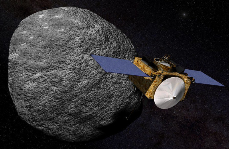 OSIRIS-REx в последний раз облетел астероид Бенну