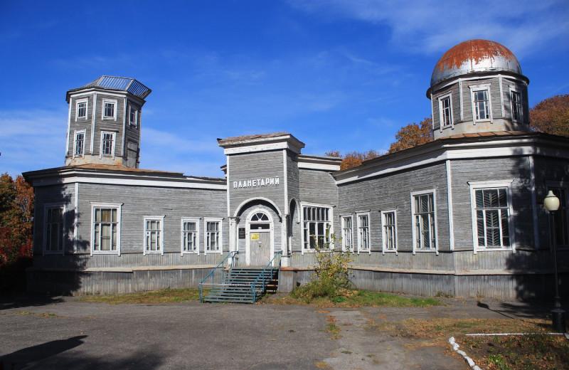 В Пензе снесен единственный в России деревянный планетарий