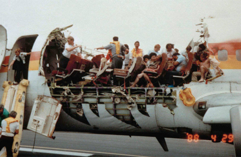 10 самых невероятных авиакатастроф в истории