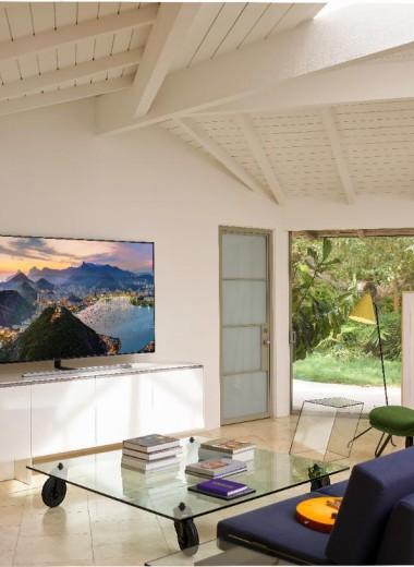 Samsung QLED 2019: телевизор, который тебя удивит