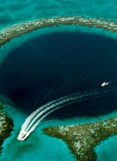 Что такое голубые дыры и кто в них живет
