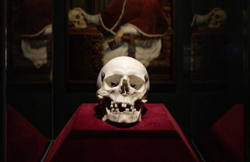 В немецком замке найден череп работы Бернини