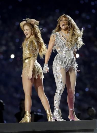 Почему Джей Ло и Шакира отказались от многомиллионных гонораров за шоу на Супербоуле