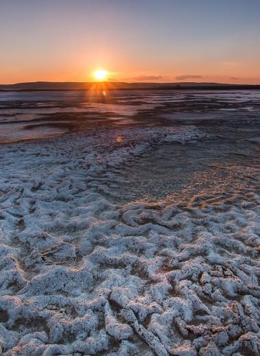 Мертвое оренбургское море