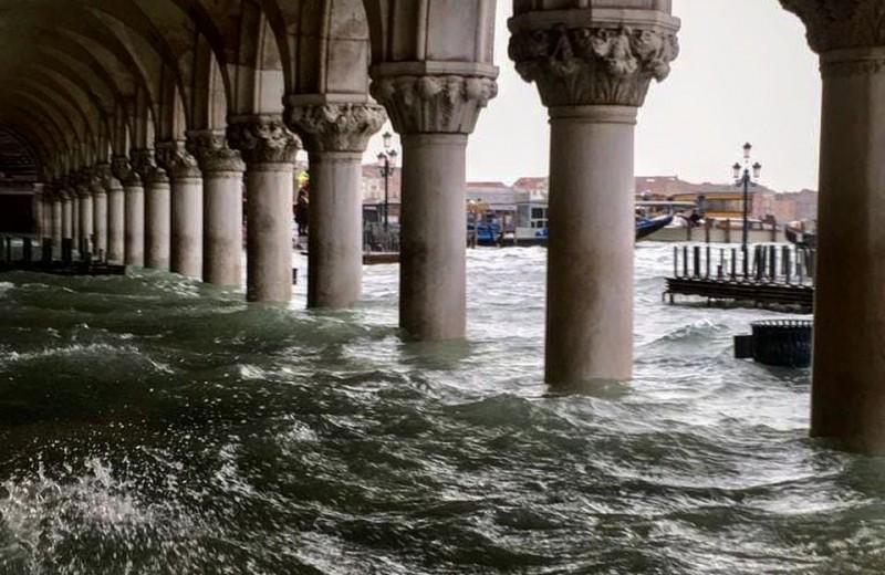 Три четверти Венеции ушло под воду