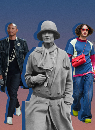 Как Коко Шанель заимствовала элементы мужского гардероба и как мужчины сейчас используют наследие Chanel