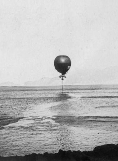 На воздушном шаре к Северному полюсу: самое безбашенное приключение в истории изучения Арктики